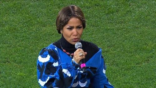 ВИДЕО. Гайтана исполнила гимн Украины перед матчем с Эстонией