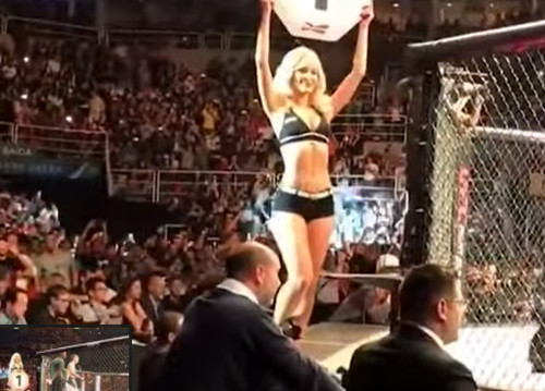 Самые горячие Ring girl в мире боев без правил