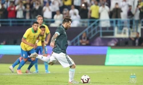 Аргентина обыграла Бразилию благодаря голу Месси