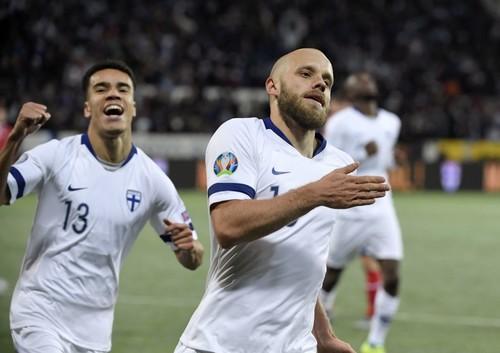 Разгромив карлика, Финляндия завоевала путевку на Евро-2020