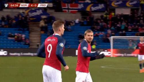 Норвегия – Фарерские острова – 4:0. Видео голов и обзор матча