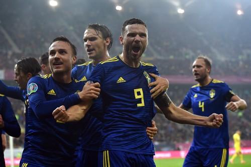 Швеция пробилась на Евро-2020 за счет победы над Румынией