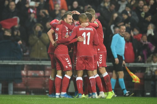 Данія та Швейцарія здобули перемоги та близькі до виходу на Євро-2020