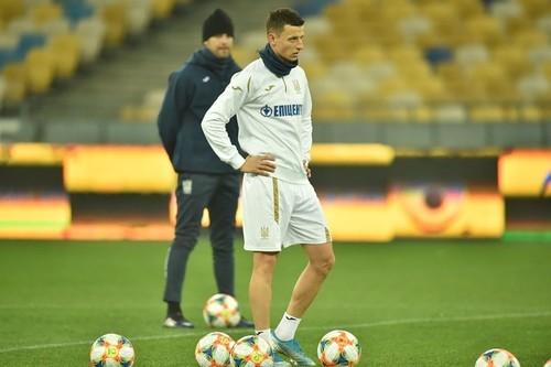 Иванисеня в дебютном матче за сборную Украины отличился 97% точности пасов
