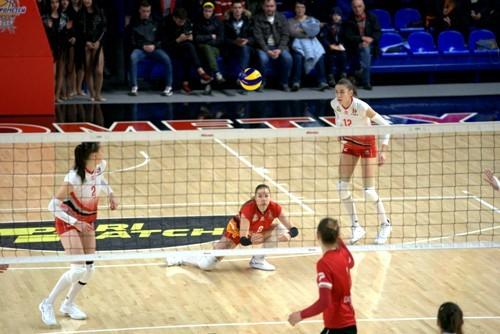 Прометей одержал десятую победу в женской Суперлиге