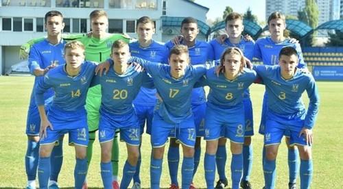 Украина U-17 одержала вторую победу в отборе на Евро-2020