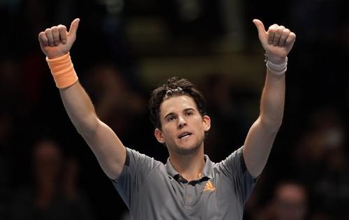 Доминик Тим стал вторым финалистом Итогового турнира ATP
