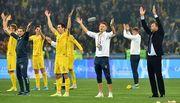 УЕФА может спустить Украину во 2-ю корзину при жеребьевке Евро-2020