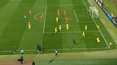ВИДЕО. Спасительный гол Беседина в матче против Сербии
