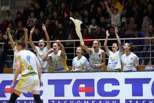 Украинки обыграли Португалию в матче отбора на Евробаскет