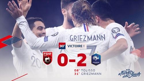 Франция, Турция и Исландия завершили евроотбор гостевыми победами
