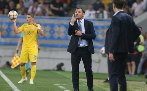 Сборная Украины впервые не потерпела за год ни одного поражения