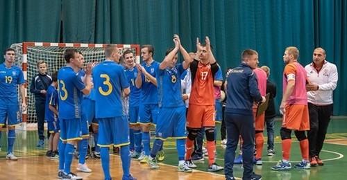 Збірна України з футзалу зіграє товариські матчі в Черкасах