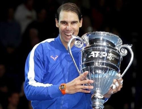 Рейтинг ATP. Надаль завершает год лидером, Тим поднялся на 4-е место