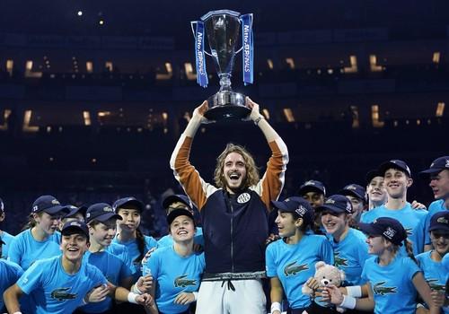 ВИДЕО. Как Циципас Итоговый турнир ATP выиграл