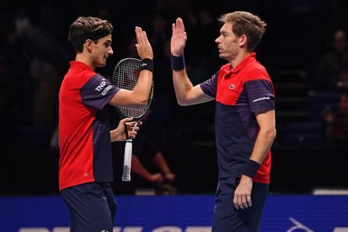 Маю и Эрбер стали победителями Итогового турнира ATP в парном разряде
