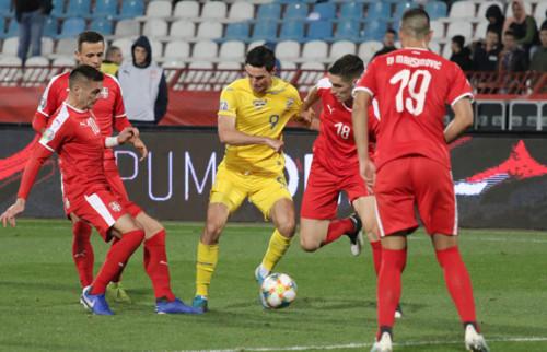 Сборная Украины забила 40-й мяч в ноябре