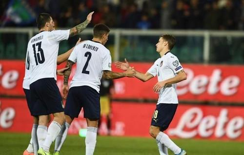 Италия впервые за 71 год забила в матче 9 голов