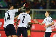 Сборная Италии выиграла все матчи в отборе на Евро-2020, забив 37 мячей