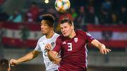 Латвия – Австрия – 1:0. Видео голов и обзор матча