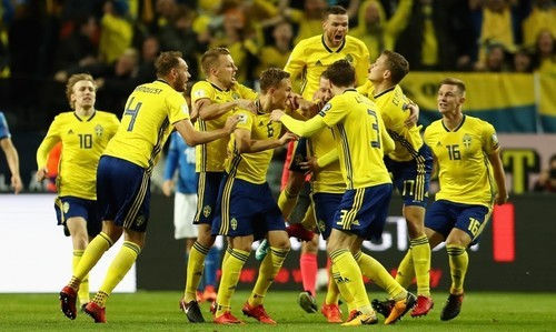 Швеция — Фарерские острова — 3:0. Видео голов и обзор матча
