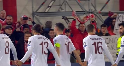 Гибралтар — Швейцария — 1:6. Видео голов и обзор матча