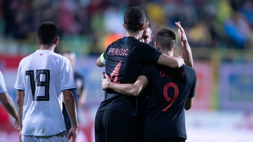 Хорватия обыграла Грузию в товарищеском матче