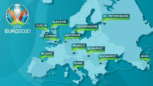 Корзины посева Евро-2020: Украина отправляется в Амстердам