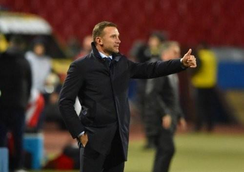 ВИДЕО. Как Шевченко хвалил сборную после матча с Сербией