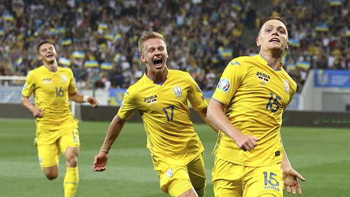 Сборная Украины вошла в 10-ку лучших команд континента по итогам 2019 года