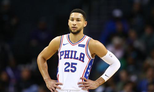 ВИДЕО. Бен Симмонс попал первый трехочковый бросок в НБА