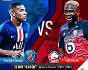 Где смотреть онлайн матч французской Лиги 1 ПСЖ – Лилль