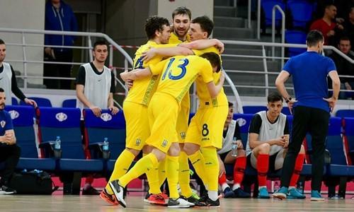 Футзал. Украина объявила состав на матчи с Хорватией