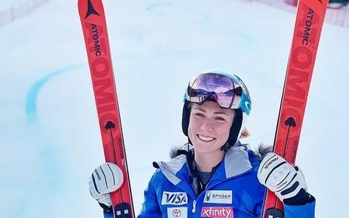 Шиффрин выиграла слалом в Леви