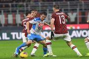 Милан – Наполи – 1:1. Видео голов и обзор матча
