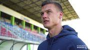 Алексей Хобленко забил мяч за Динамо Брест