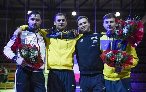 Рейзлін переміг росіянина та виграв етап КС з фехтування на шпагах