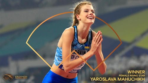 Украинка Магучих названа лучшей молодой легкоатлеткой мира в 2019 году