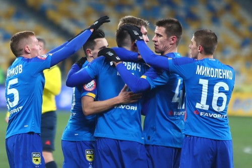 Динамо разгромило Мариуполь и вернуло себе вторую позицию турнирной таблицы