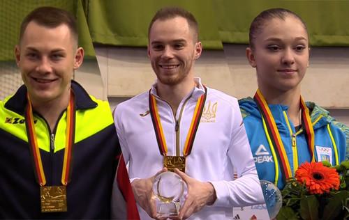 Верняев, Радивилов и Бачинская выиграли золото на этапе КМ в Германии