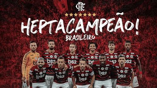 Фламенго досрочно выиграл чемпионат Бразилии