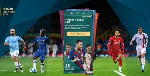 УЕФА открыл голосование для определения символической команды года