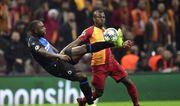 Группа A. Галатасарай и Брюгге сыграли вничью в матче с двумя удалениями