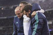 Азар в матче с ПСЖ получил травму