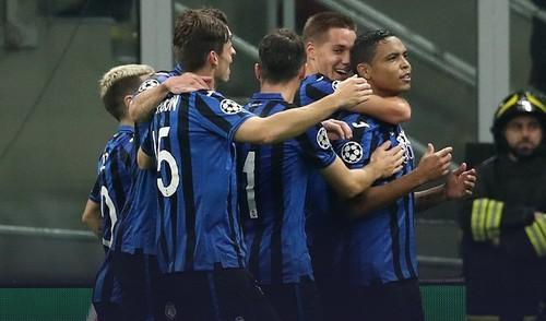 Группа С. Аталанта одержала первую в истории победу в Лиге чемпионов
