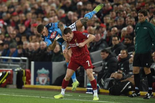 Ливерпуль – Наполи – 1:1. Текстовая трансляция матча