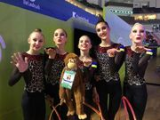 Украинские юниорки пробились в финал чемпионата Европы