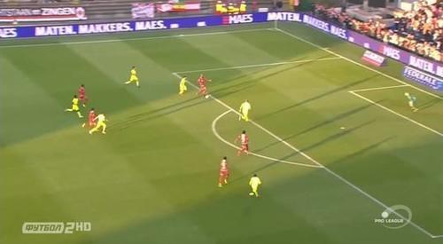 Антверпен – Гент – 1:2. Видео голов и обзор матча