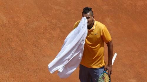 Стало известно, как ATP накажет Кирьоса за выходку в Риме