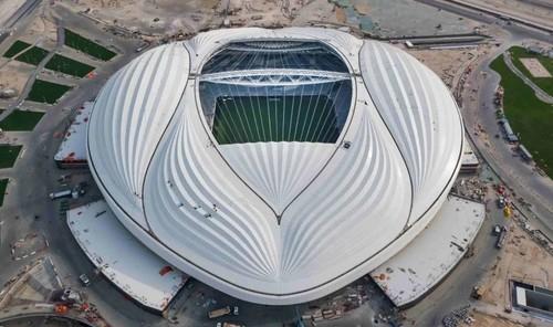 В Катаре открыли новый стадион для ЧМ-2022